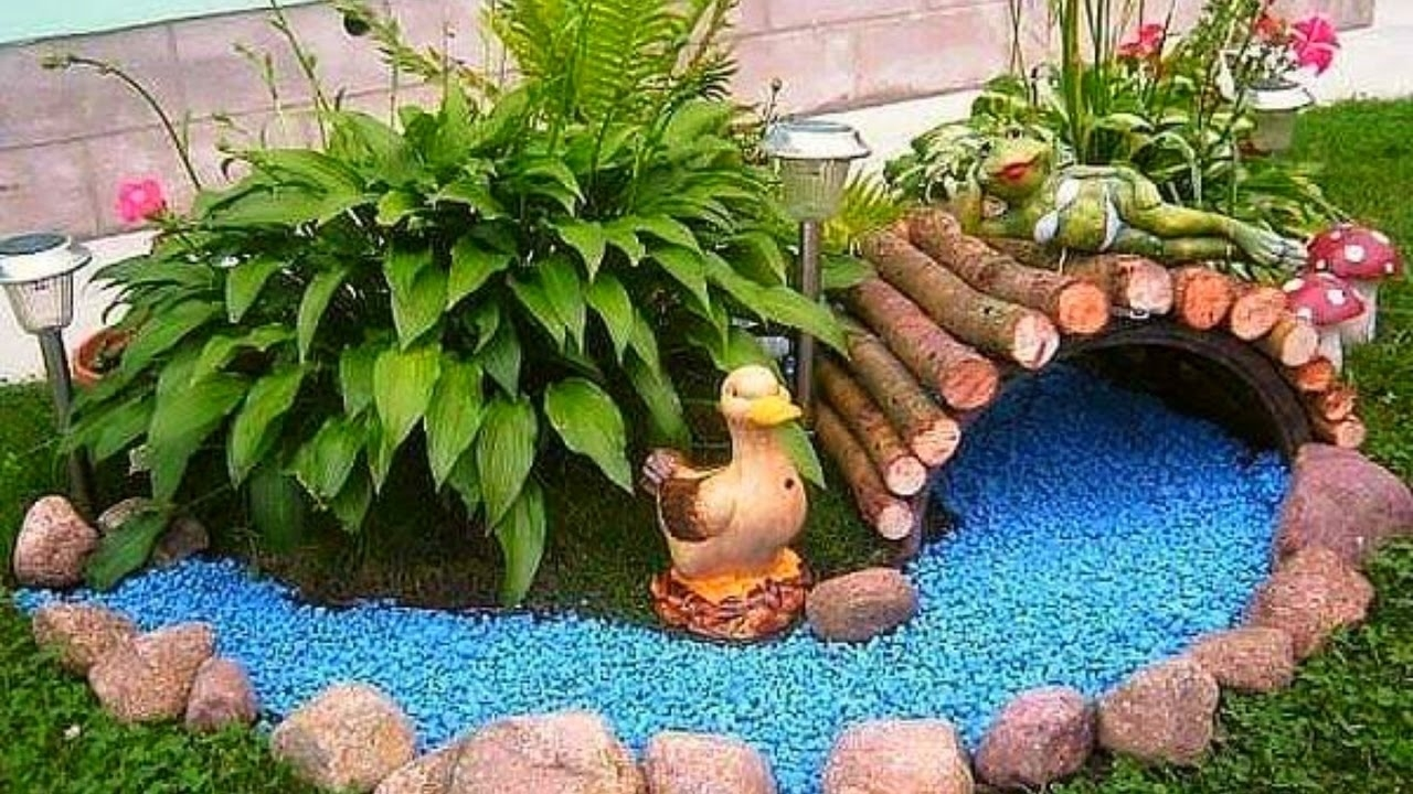 Tips For Decorating The Garden With Love Inspiring Home